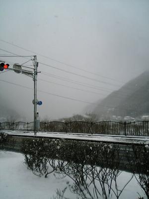 高梁の雪景色2005年1月